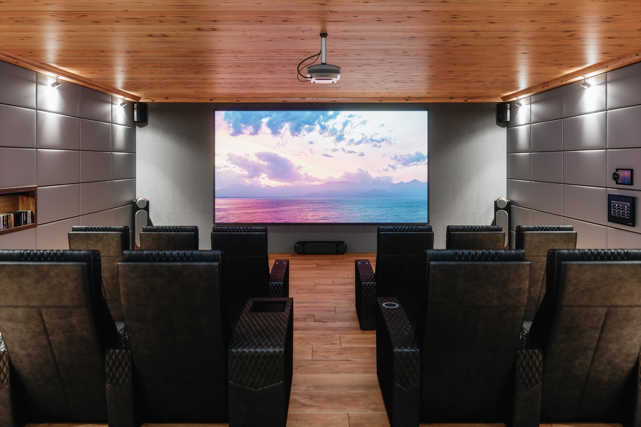 Private Home Cinema Room