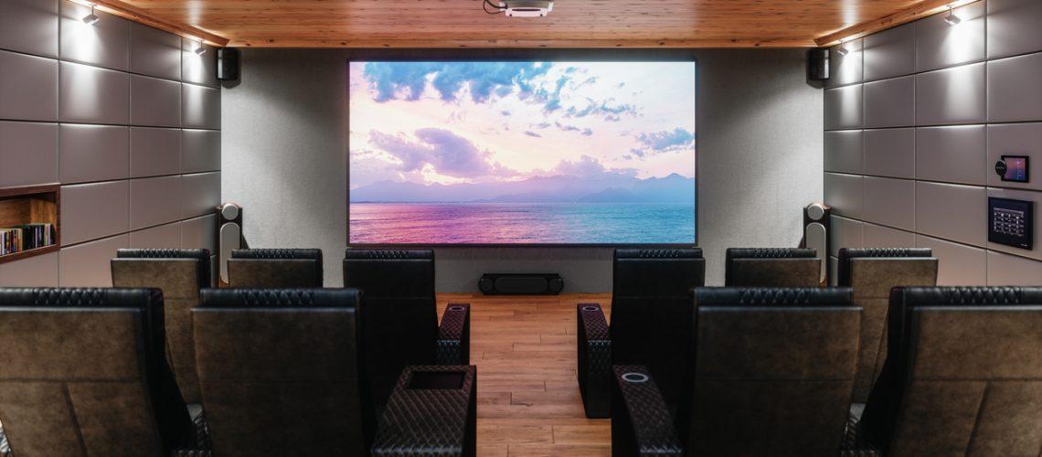 Private Home Cinema Room