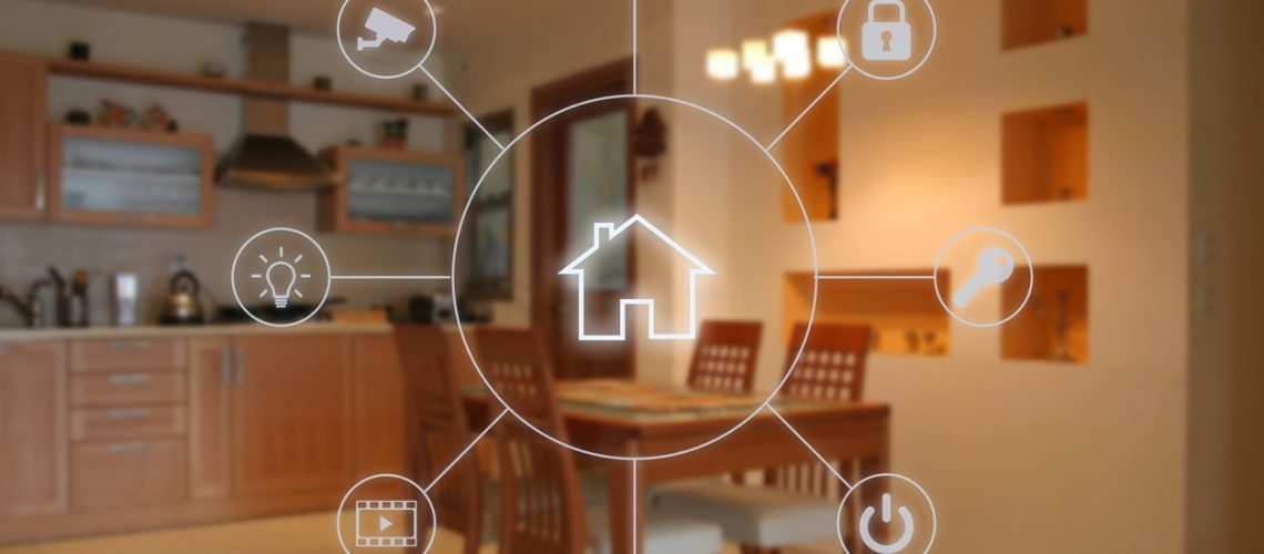 Smart home automation remote control internet technology