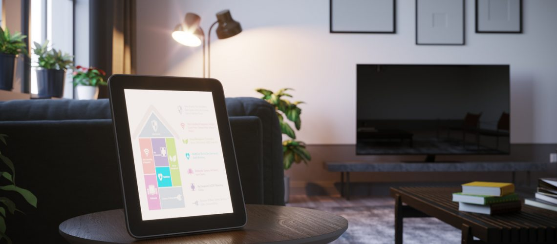 home-automation touchscreen